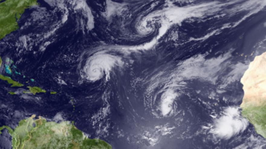 Tormenta tropical Earl en el Caribe