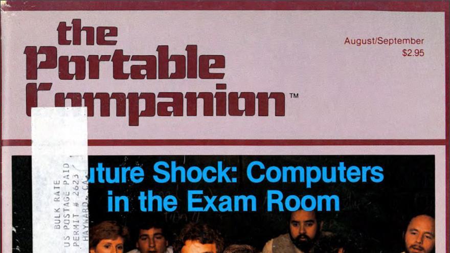 La portada de 'The Portable Companion' en 1982