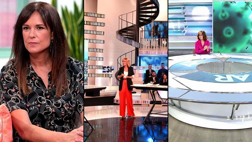Los magacines matinales de TVE, Antena 3 y Telecinco