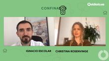 Ignacio Escolar entrevista a Christina Rosenvinge.
