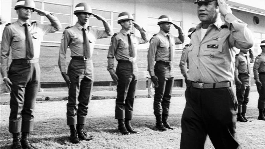 Noriega cumple dos años preso en Panamá