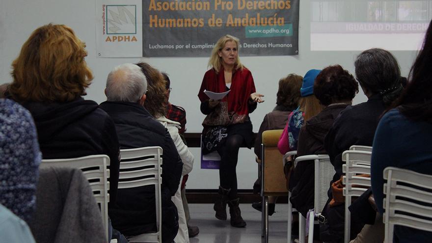 Montse Neira, trabajadora sexual. / Juan Miguel Baquero