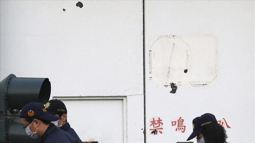 Seis presos armados toman rehenes y se suicidan en Taiwán tras protestar