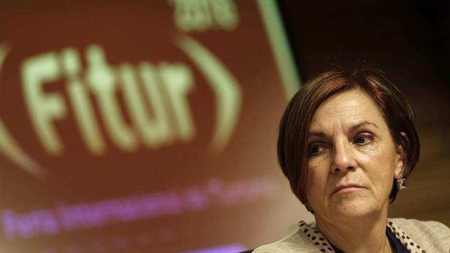 La directora de Fitur defiende las ferias presenciales pese al avance digital