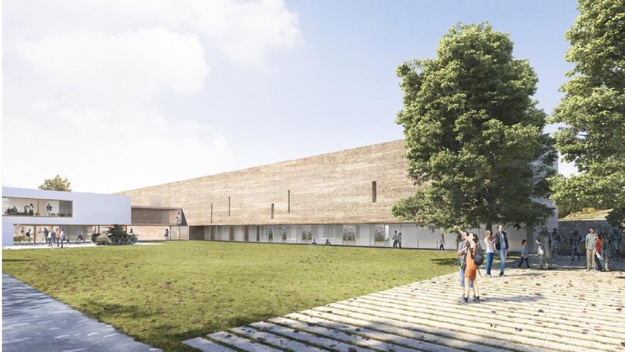 El proyecto contempla un edificio de 3.500 metros cuadrados