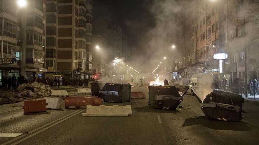 Incidentes en Burgos ante la propuesta de construcción de un bulevar