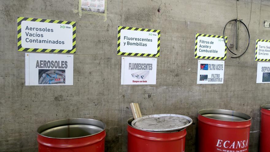 Titsa recicla 284.382 kilos de residuos en 2019, un 9,5% más que el año anterior