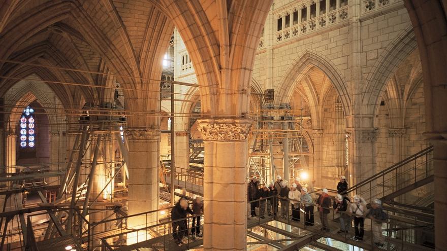 La Fundación Catedral Santa María de Vitoria, premio del Patrimonio Arqueológico Europeo 2019