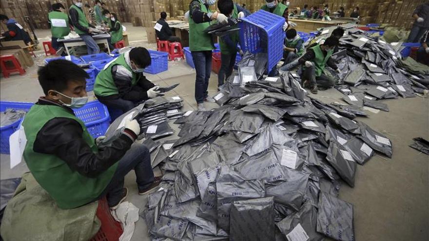Alibaba bate en el Día del Soltero el récord de ventas online en una jornada