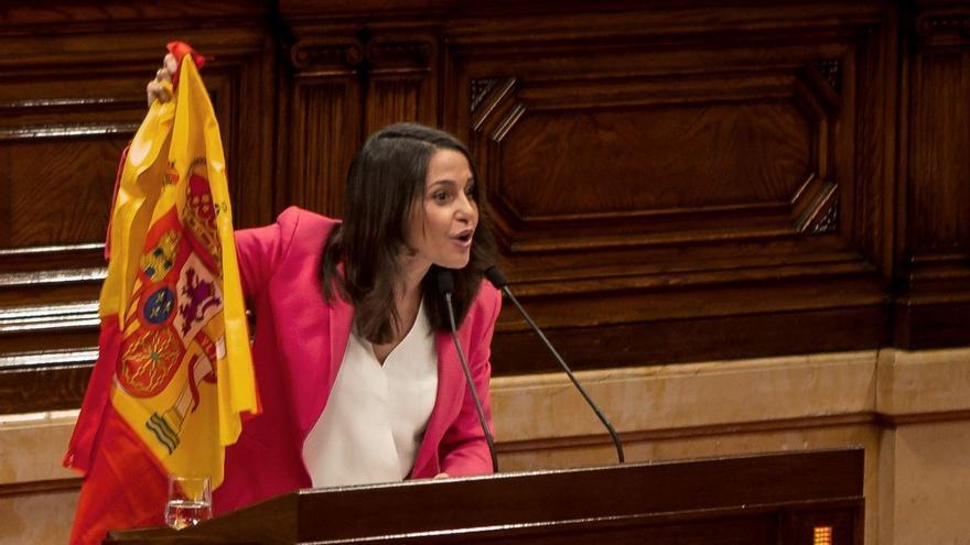 Inés Arrimadas, líder Cs en Cataluñaa. EFE