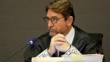 El juez Salvador Alba, en la vista previa del caso Unión.