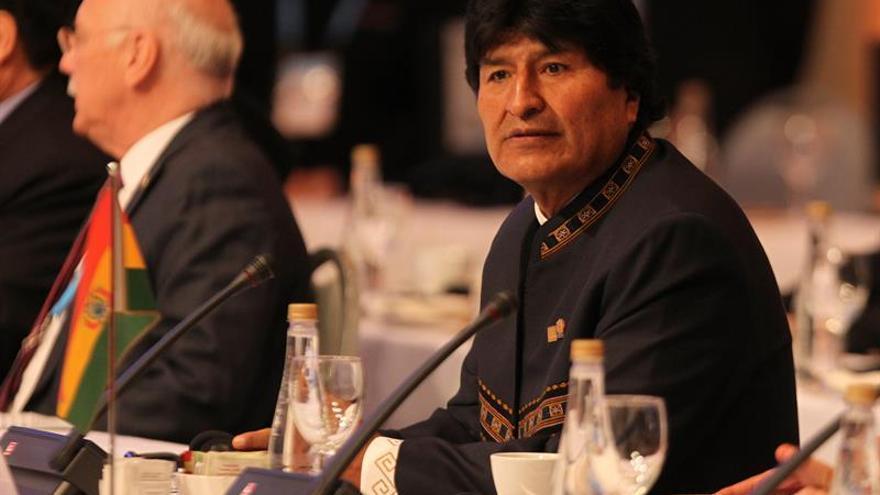 Morales critica a Colombia, México y Panamá por no reconocer la Constituyente
