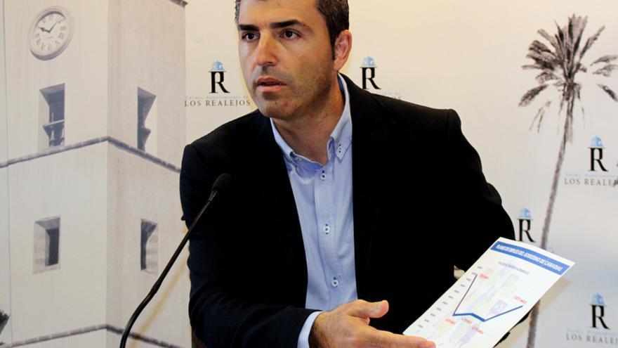 El alcalde de Los Realejos y presidente del PP en Tenerife, Manuel Domínguez