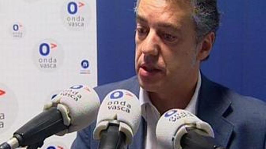 Presidente del PNV, Iñigo Urkullu