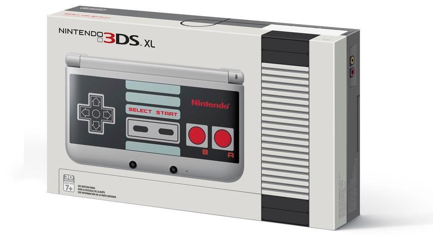 Nintendo 3DS XL mando NES