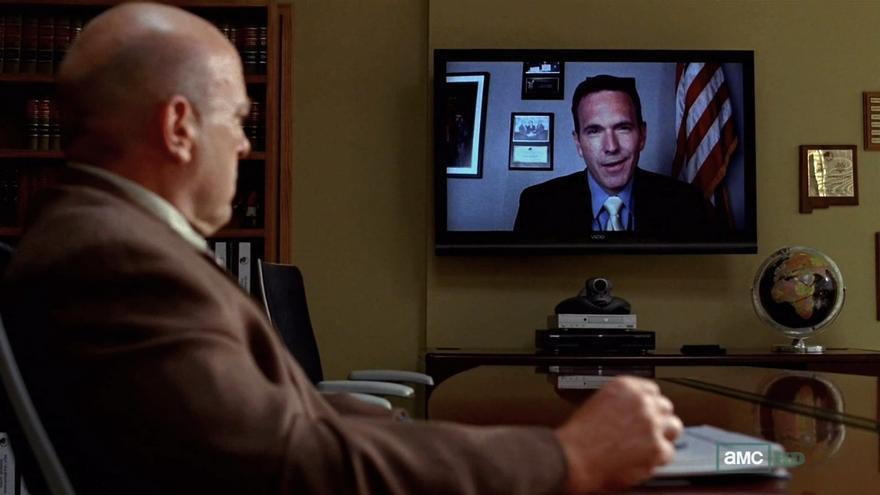 Equipo de videoconferencia de Polycom en 'Breaking Bad'