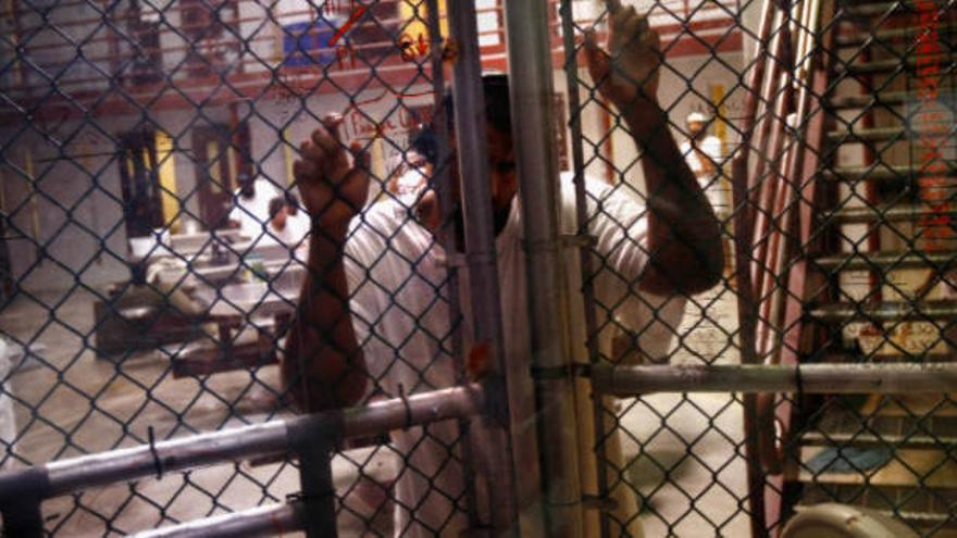 Imagen de la cárcel de Guantánamo.