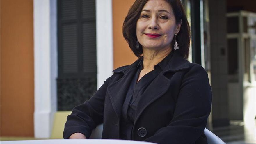 """La mexicana Susana Salazar, contenta con la acogida de """"Workers"""" en Huelva"""