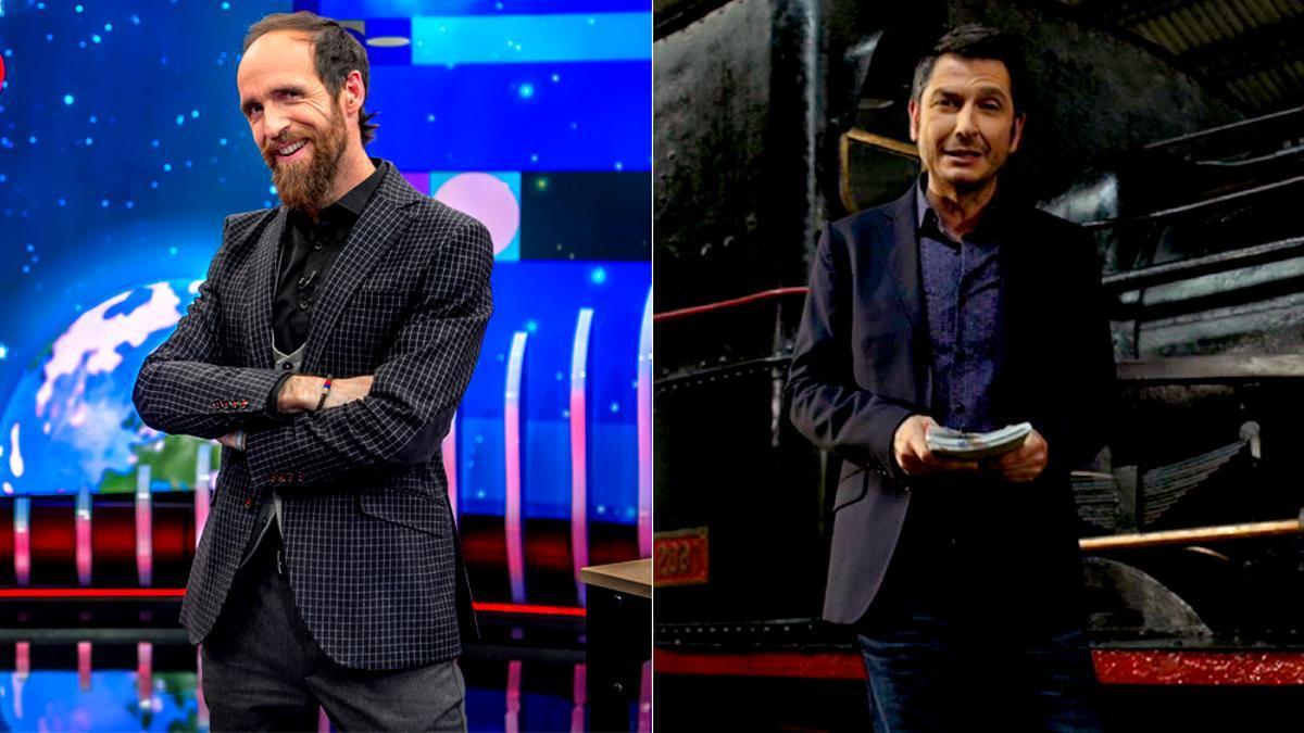 Eduardo Sáenz de Cabezón y Carlos del Amor, destacados en La 2