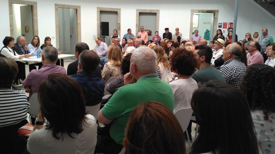 Lectura de las cartas en la antigua prisión de Lugo