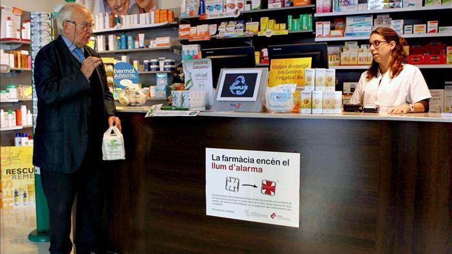 La facturación de las farmacias por recetas bajó el 12,3 por ciento en 2012