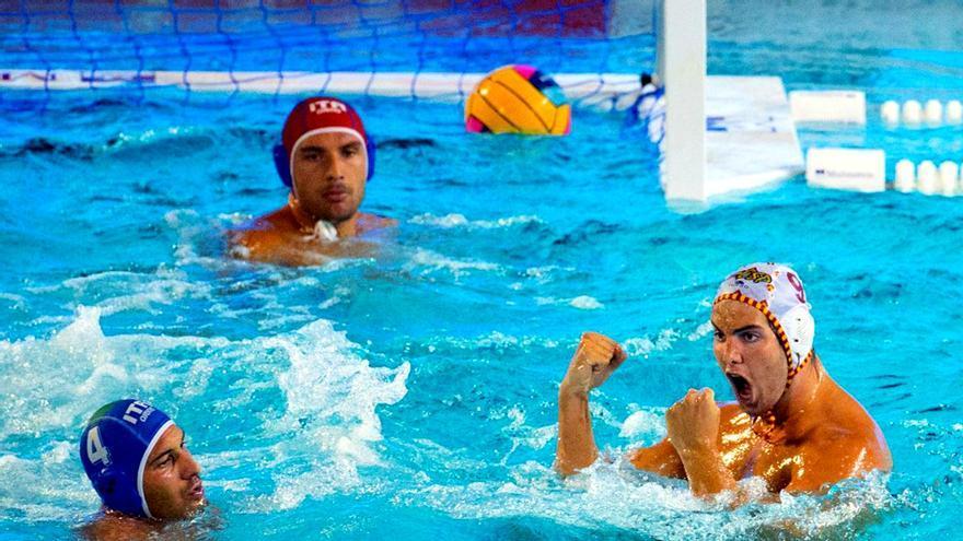 España-Italia en la semifinal del Europeo de waterpolo