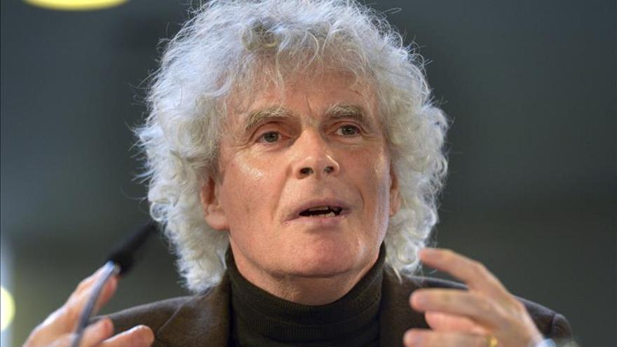 La Filarmónica de Berlín sigue su encierro para elegir al sucesor de Rattle