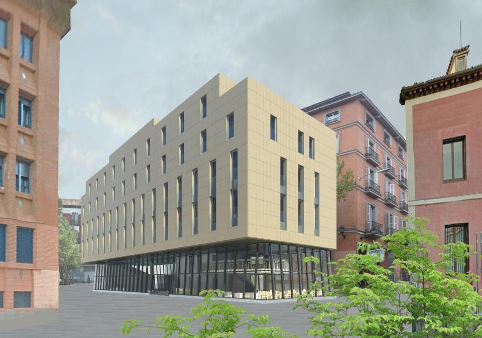 Proyecto del hotel que ocupará el solar de San Mateo  IDEUS