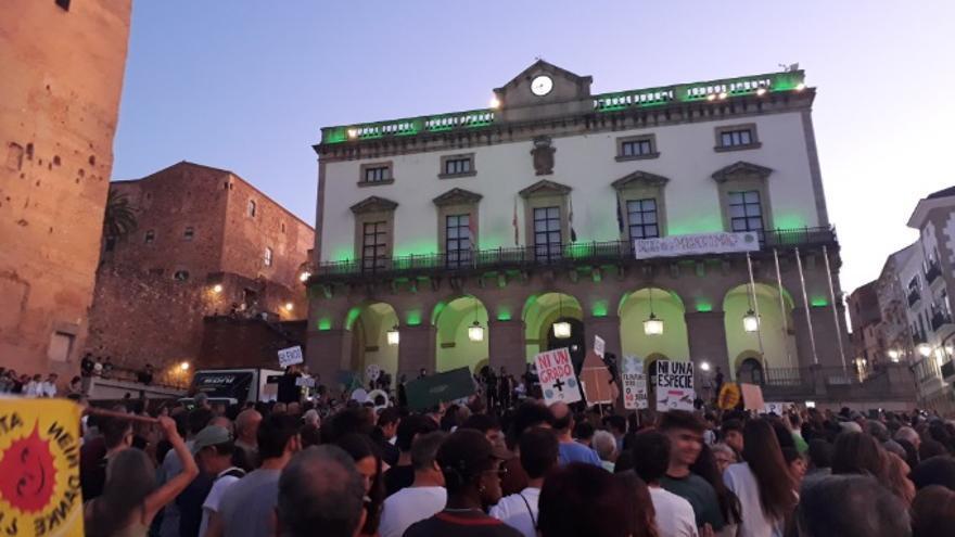 Concentración por el clima en Cáceres