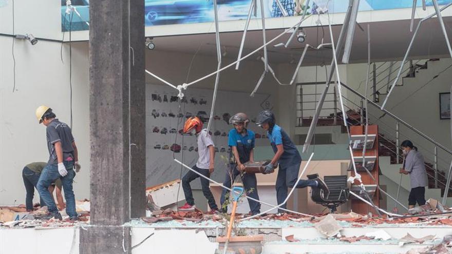 Indonesia busca supervivientes tras el terremoto de magnitud 7 en Lombok