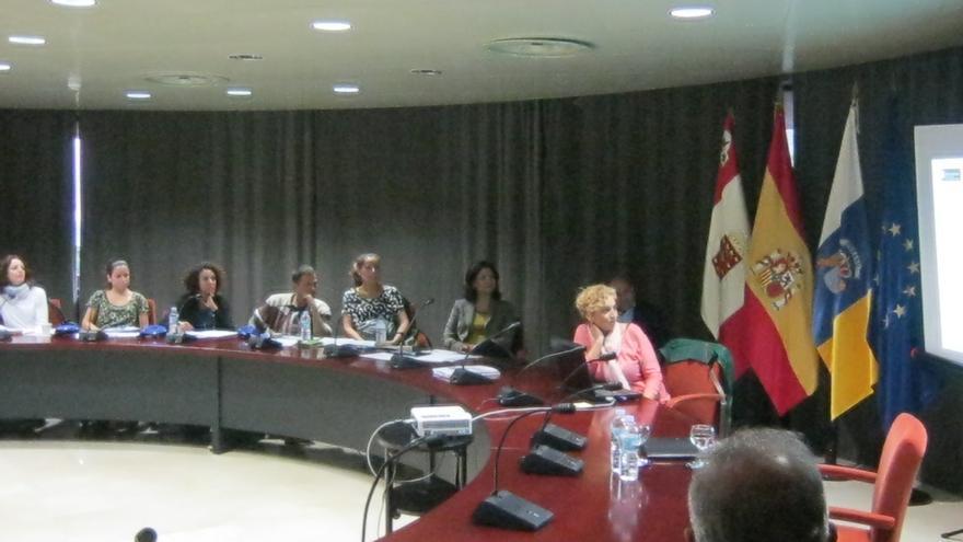 curso de formación sobre el etiquetado en los productos alimenticios realizado en la sede del Cabildo Insular