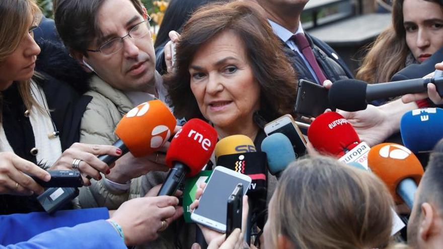 Calvo recuerda a Torra que es la primera autoridad del Estado en Cataluña