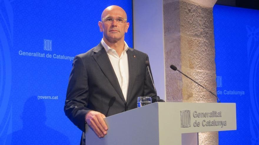Romeva pide a los catalanes sumarse al Registro de catalanes en el exterior