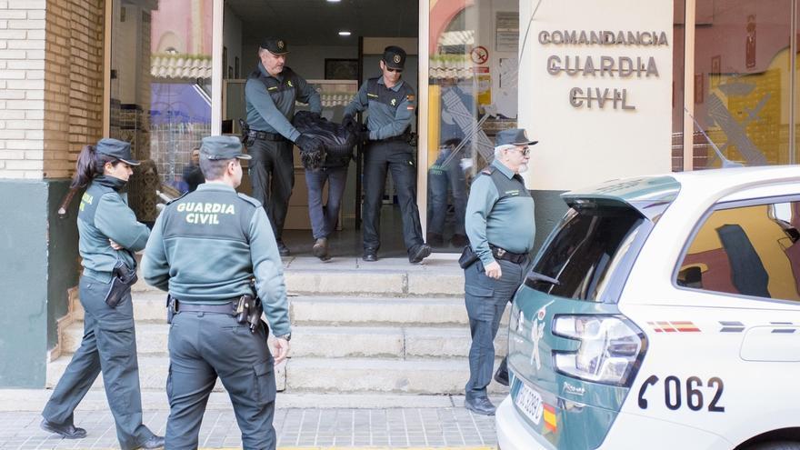 Trasladan a Bernardo Montoya de la Comandancia de la Guardia Civil tras confesar que mató a Laura