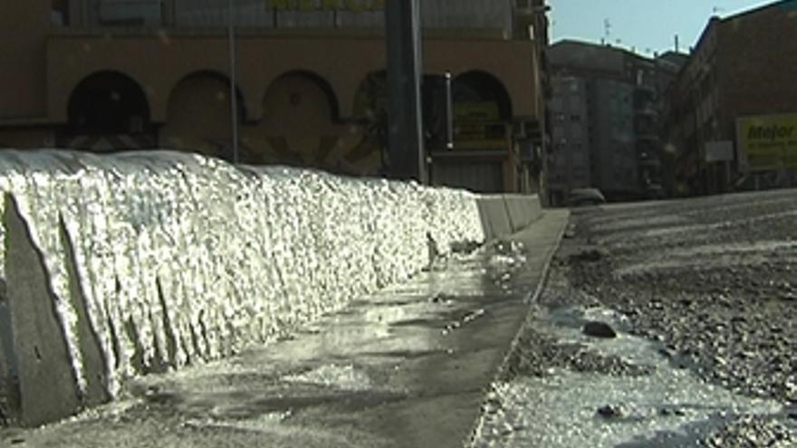 La ola de frío persiste en el centro de Cataluña