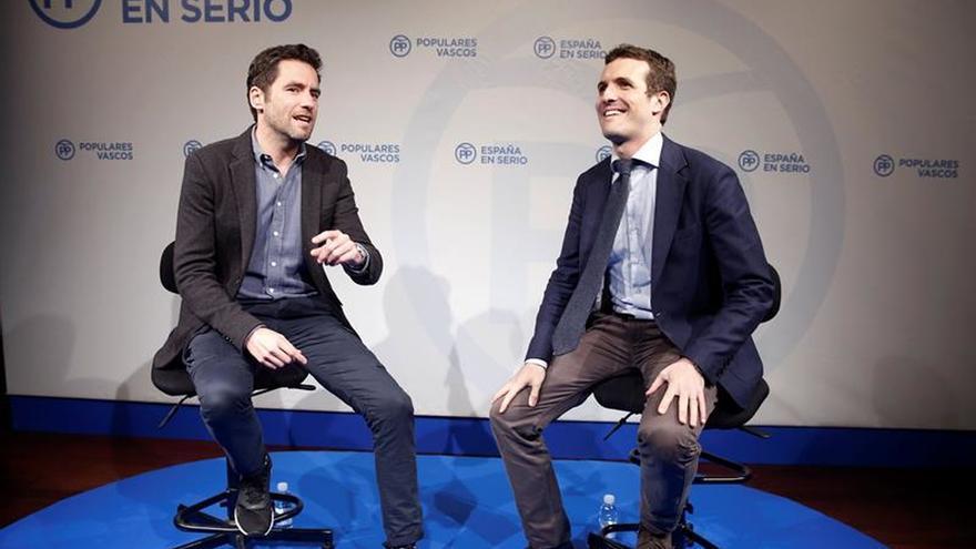 Borja Sémper y Pablo Casado, en una imagen de archivo.