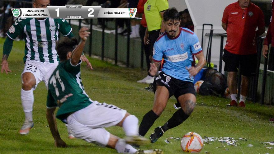 El Córdoba vence al Juventud Torremolinos (1-2)