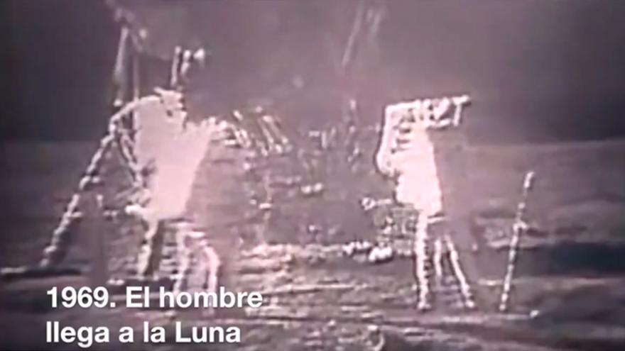 Escena utilizada por el PP en el vídeo de promoción de la bajada del paro
