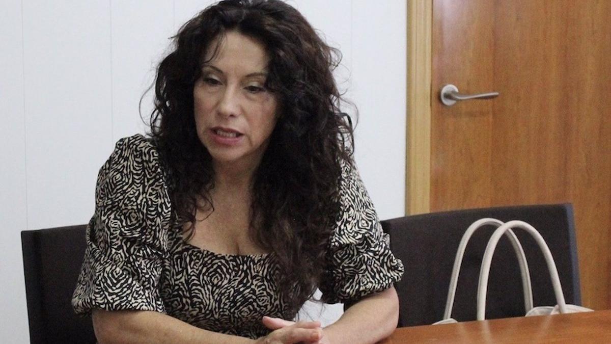La consejera Rocío Ruiz.