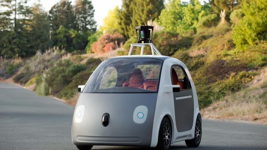 prototipo de coche de Google
