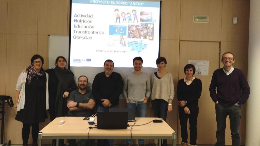Se reúnen en Pamplona los socios de un proyecto europeo para la prevención de la obesidad infantil