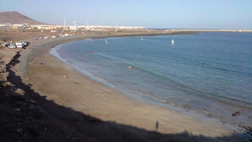 La playa de Bahía de Formas.