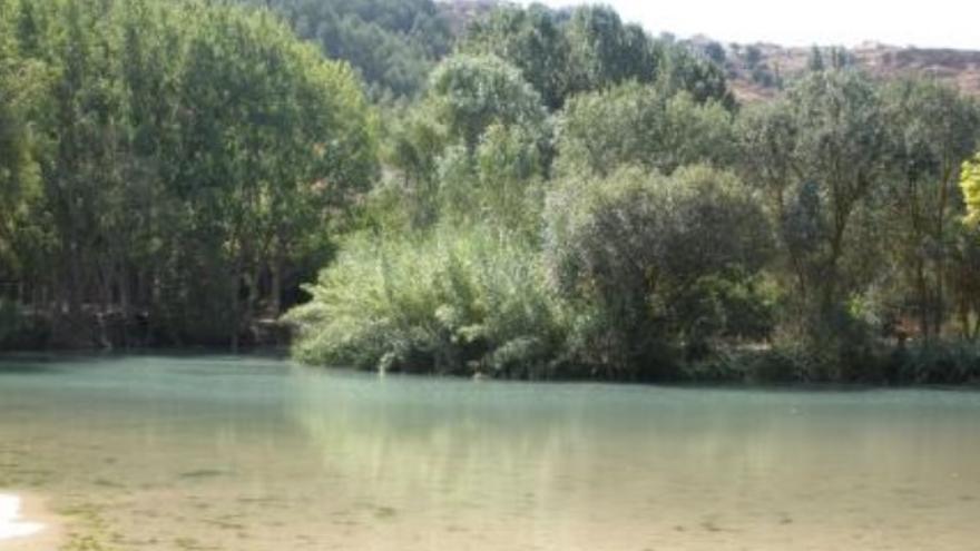 Zona de baño en Alcalá del Júcar (Albacete)