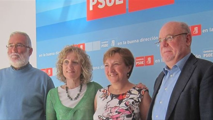 Los cuatro consejeros del PSOE