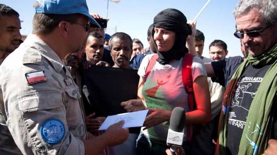 De la manifestación ante la ONU #1