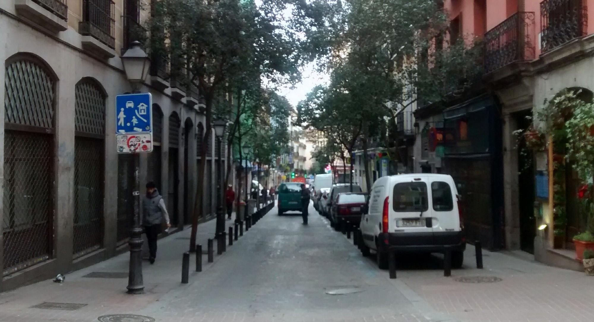 Aspecto actual de la calle Pez | SOMOS MALASAÑA
