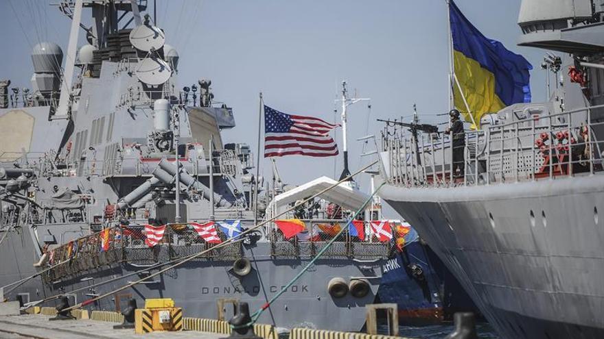 Comienzan en Ucrania los ejercicios navales multinacionales Sea Breeze