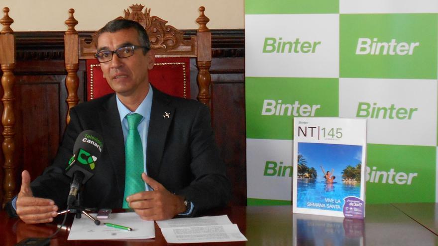 José Rodríguez Escudero es responsable de Relaciones Institucionales, Comunicación e Imagen de Binter.