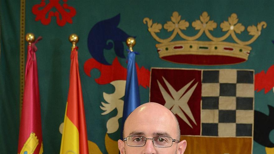 El alcalde de Argamasilla de Alba, Pedro Ángel Jiménez