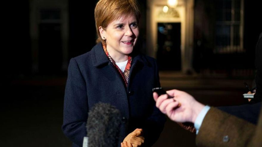 Nicola Sturgeon, líder del SNP (Partido Nacional Escocés)